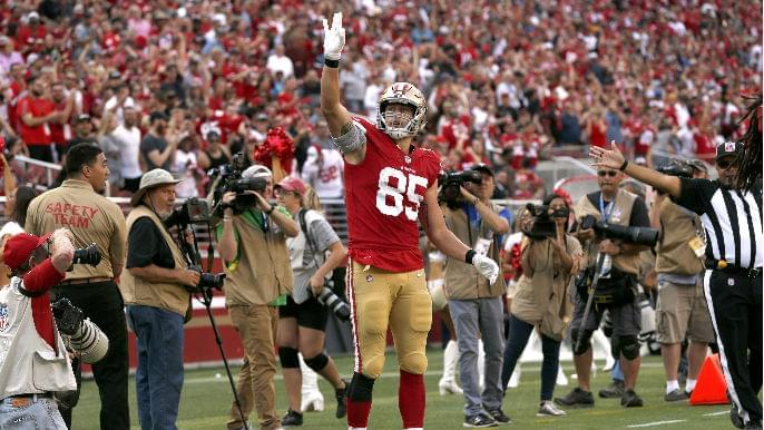 Maiocco: George Kittle seems to be a combination of two great former 49ers