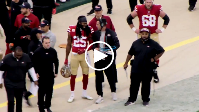 Mic'd up video gives behind-the-scenes look at Kyle Shanahan's gameday personality