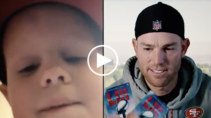 Robbie Gould surprises nine-year old cancer survivor with Super Bowl tickets for his birthday