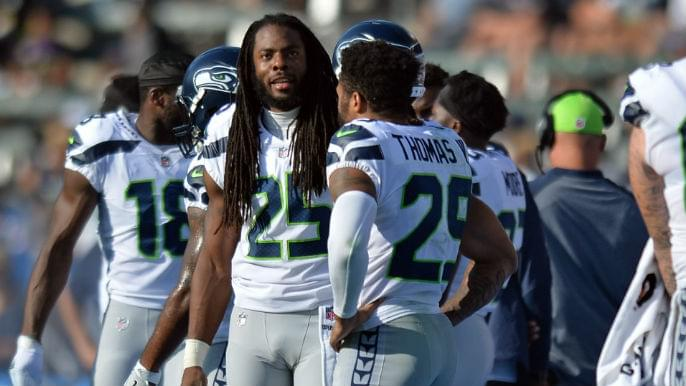 quality design a498e 54d1e Richard Sherman welcomes possibility of Earl Thomas joining ...