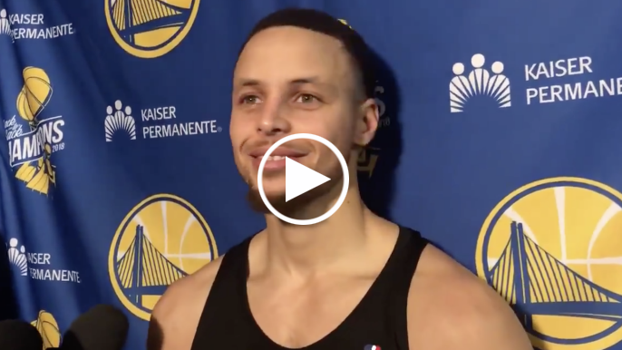 Curry on flashing Harden's number: 'They knew it was someone different, so they called it'