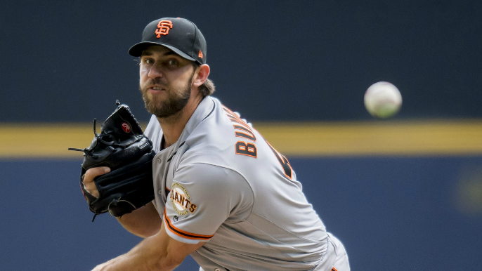Giants, Brewers have had 'substantive talks' regarding Bumgarner trade [report]