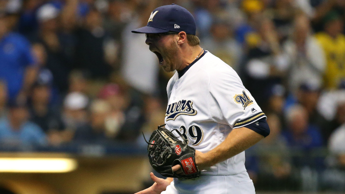 Giants seeking young starting pitcher from Brewers in exchange for Bumgarner [report]