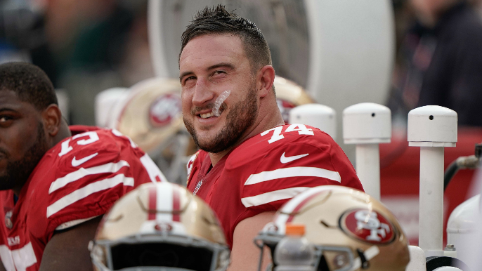 Joe Staley joins in on recruiting pitch for Antonio Brown