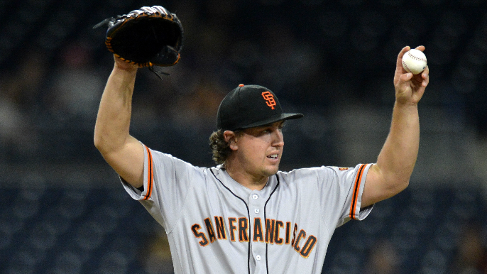 Derek Holland signs one-year deal with Giants
