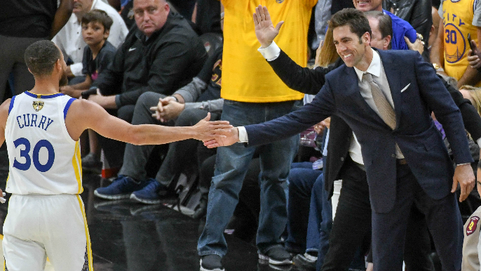 Bob Myers breaks down how this year's Warriors would fare vs. 73-win team