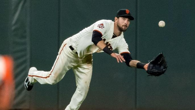 Baggarly predicts what Giants' opening day outfield will look like
