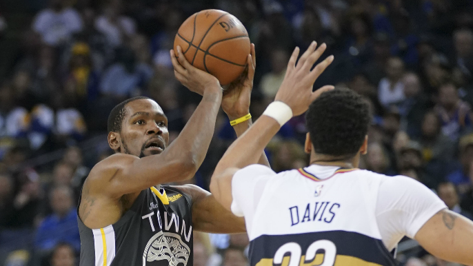 Kevin Durant gives take on Anthony Davis' trade request