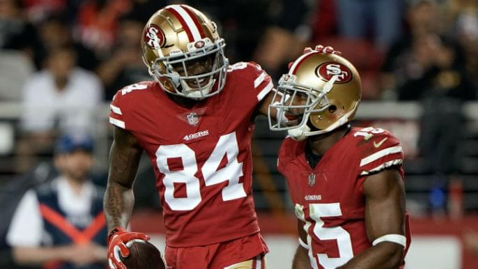 How the 49ers should handle receiver situation ahead of 2019 season
