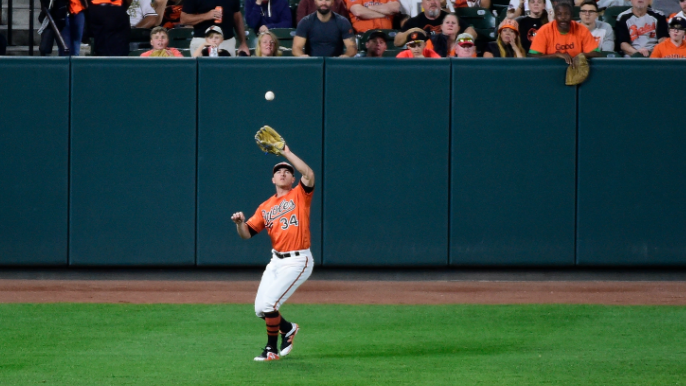 Giants claim former Orioles outfielder off waivers