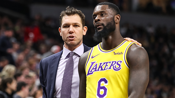 Walton, Laker players have 'heated' exchange following loss to Warriors [report]