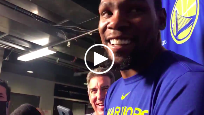 Durant responds to being LeBron's first All-Star pick for second-straight year
