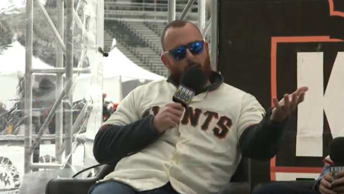 Dyson, Melancon, and Suarez talk Bryce Harper and more at Giants FanFest