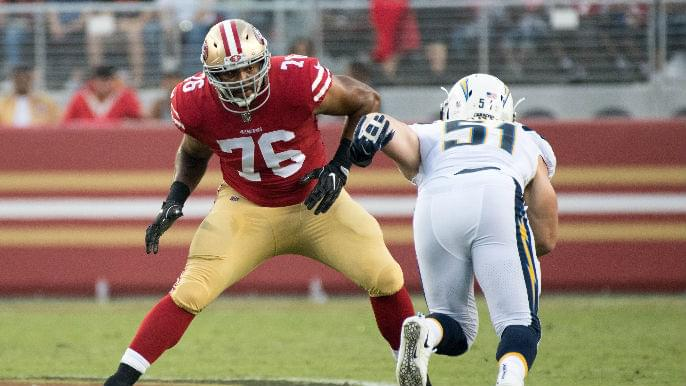 49ers cut backup offensive tackle, opening $5 million in cap space