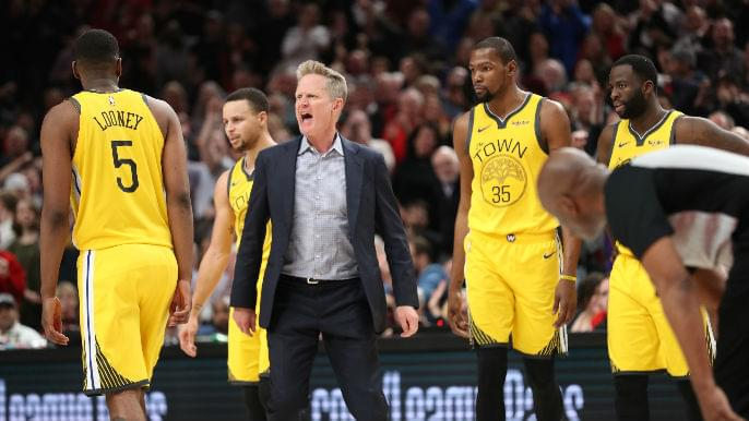 Steve Kerr fined for 'verbally abusing and confronting' game official