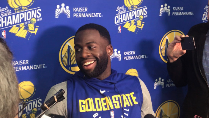 Draymond on Bogut's return to Warriors: 'I'm excited as hell about it'