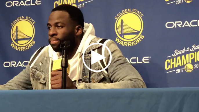 Draymond Green wants people to stop blaming DeMarcus Cousins for Warriors' defensive issues