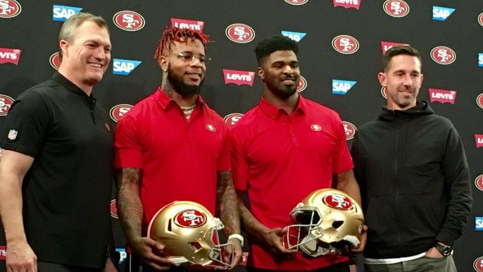 Five takeaways from 49ers' free-agent press conference