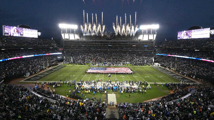 Raiders to officially play in Oakland for 2019 season