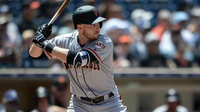 Giants option Austin Slater, make three other cuts to spring training roster