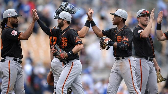 Predicting the Giants' 25-man Opening Day roster