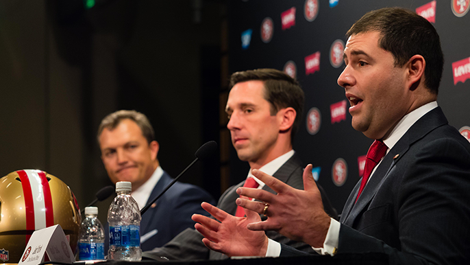 Jed York thought he broke his wrist punching a wall when Garoppolo tore ACL