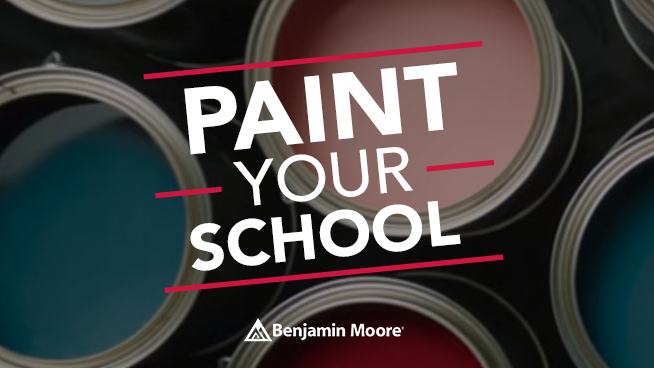 KNBR & Benjamin Moore Want to Paint Your School's Common Space