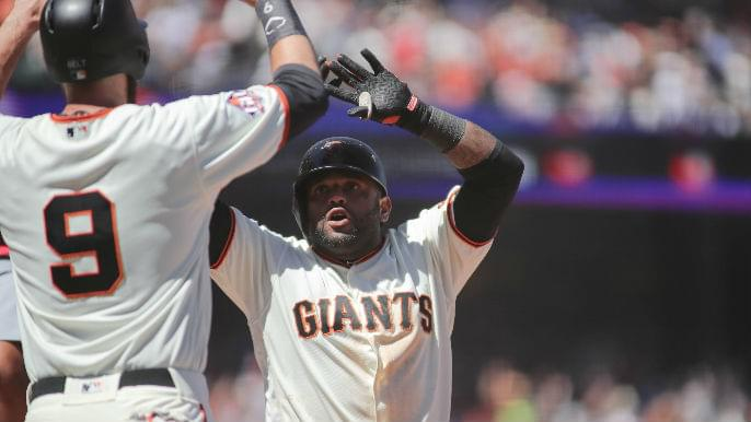 Giants announce Opening Day 25-man roster