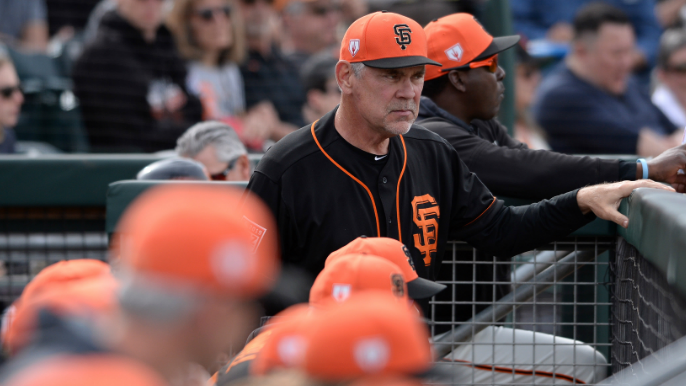 Bochy reflects on his journey, set to silence Giants' doubters