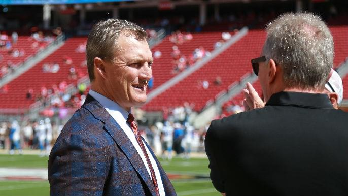 Entertaining possible draft trade scenarios for 49ers