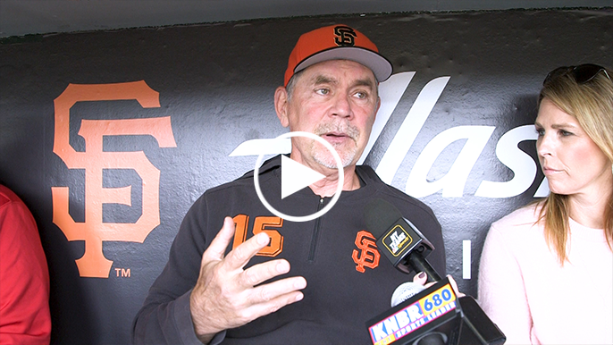 Bochy proud of Giants culture after postgame celebration left Pillar in awe
