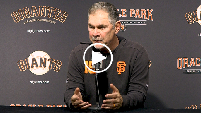 Bochy attributes balk by Vincent to misunderstanding