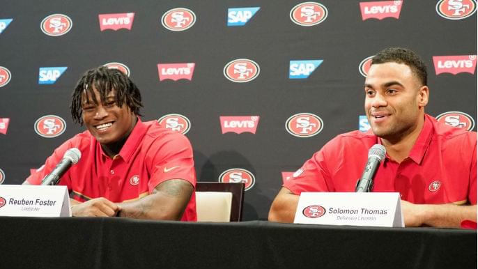 Ranking every 49ers draft class of the past decade