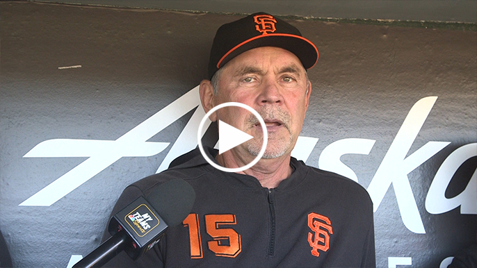 Bruce Bochy says Joey Bart is on a 'fast pace' to majors
