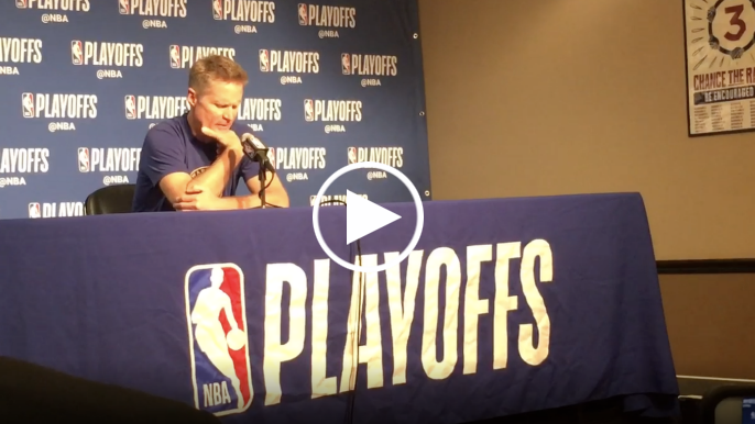 Steve Kerr explains how last two seasons have been different than first three