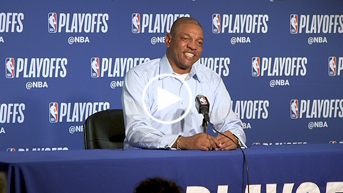 Doc Rivers tells funny story about dropping $2,000 in SF ahead of Game 2