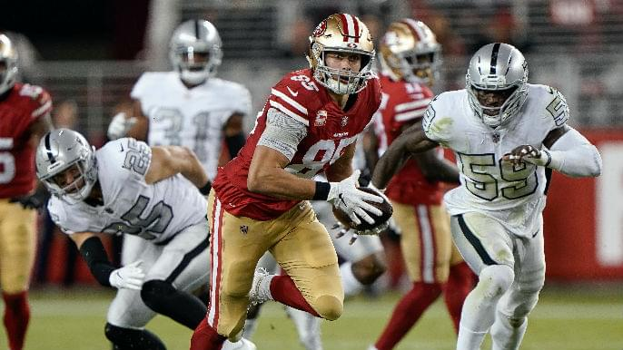 George Kittle kept rib cartilage fracture a secret for final eight games