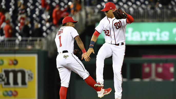 Nationals hit 4 HRs in 9-6 victory over Giants