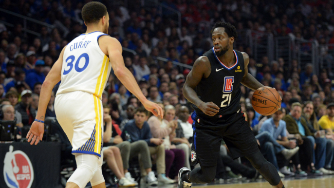 Patrick Beverley explains why he doesn't talk trash to Steph Curry [report]