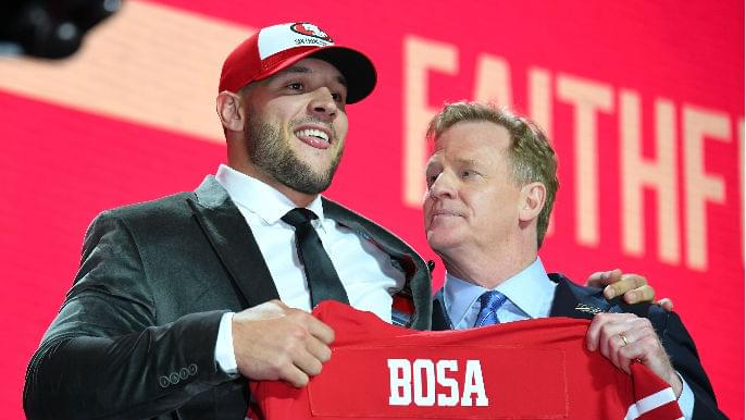 Nick Bosa on 680: 'I couldn't be put into a better situation'