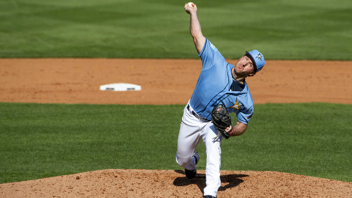 Giants claim former Rays pitcher off waivers