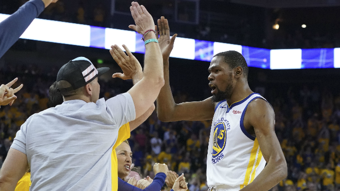 Kevin Durant posts reaction after Warriors beat Rockets