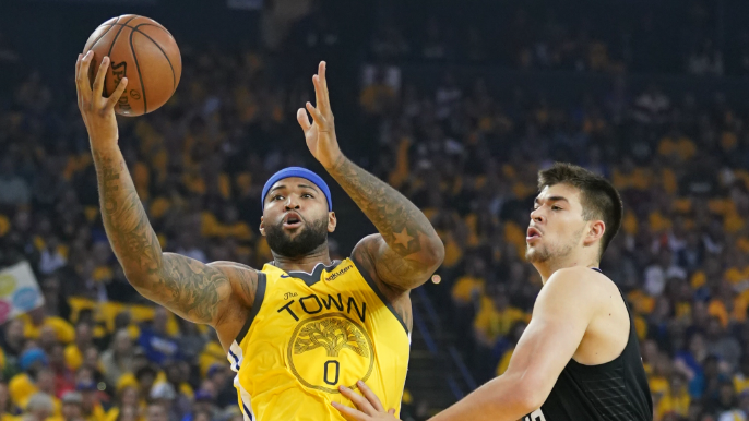 DeMarcus Cousins on track to return in Western Conference Finals [report]