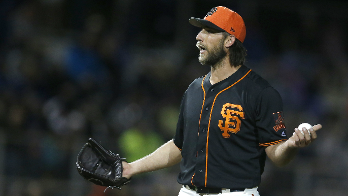Bumgarner on Puig homer: 'It only took him seven years to learn how to hit that pitch'