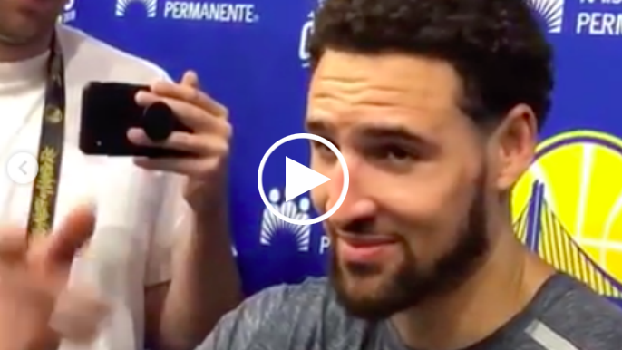 Klay Thompson listens to classical music, visualizes shots on nights before games