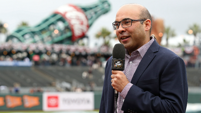 Schulman on Zaidi: 'I see him more in the clubhouse than I saw Bobby Evans and Brian Sabean'