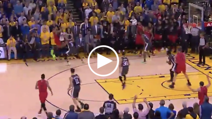 Andre Iguodala strips Damian Lillard in final seconds to secure comeback win