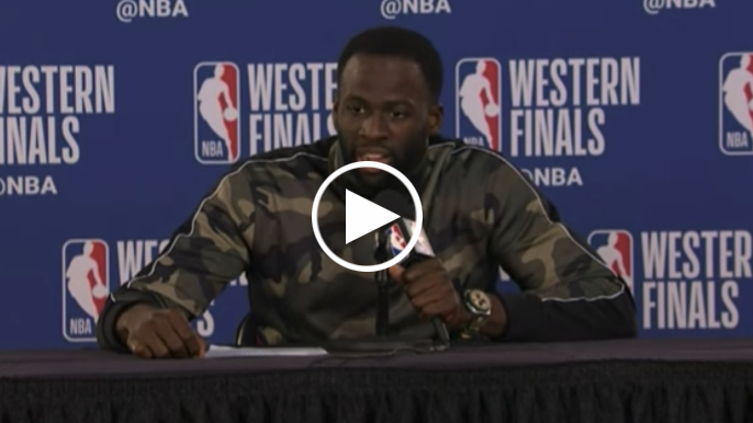 Draymond on limiting complaints with referees: 'I was doing more crying than playing'