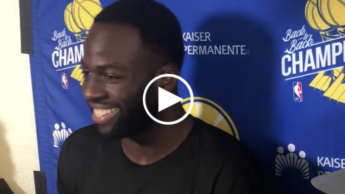 Draymond says son's flopping is part of reason he's changed on-court behavior