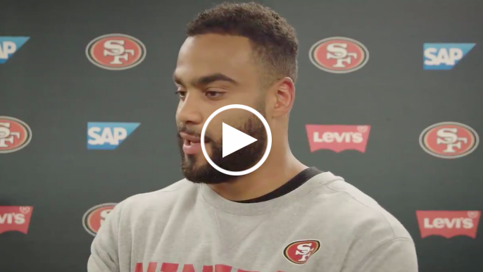 Solomon Thomas discusses improved mental health, talk with John Lynch on trade rumors